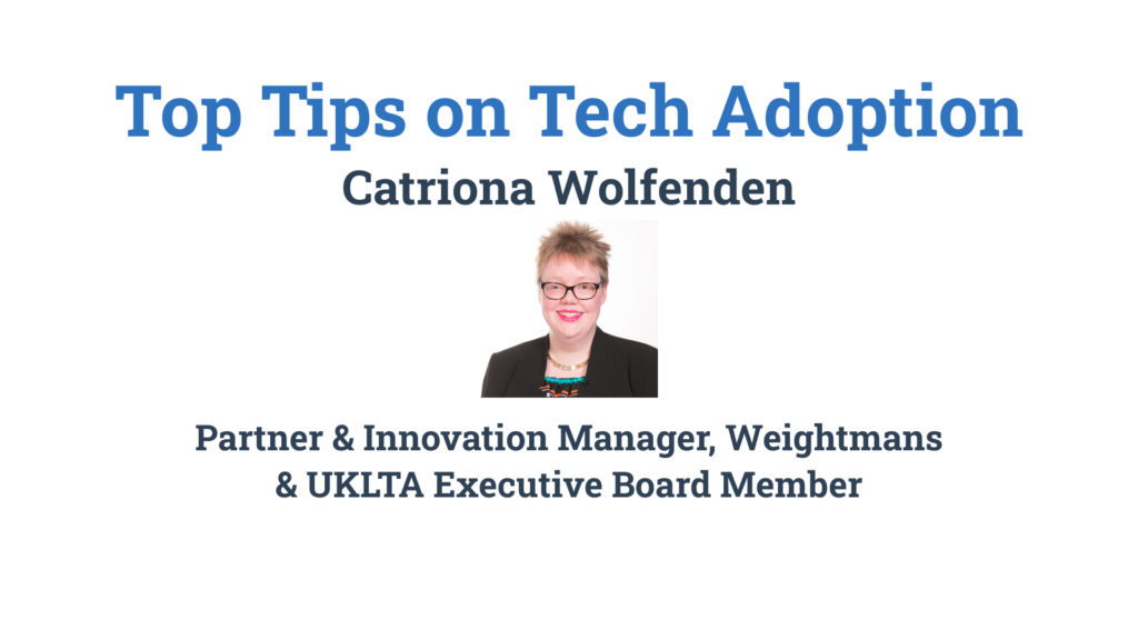 Top Tips on Tech Adoption