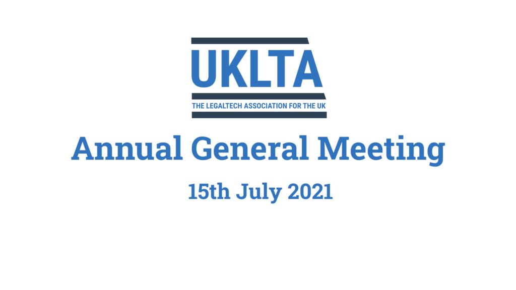 UKLTA AGM 2021